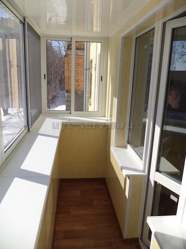 Услуги - остекление балконов, лоджий, сварные работы в самар.